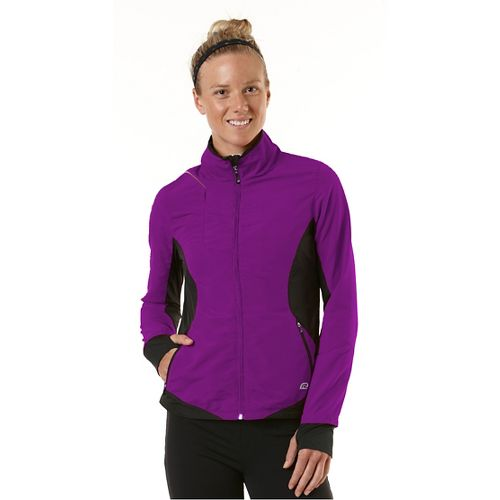 Womens R-Gear Night Watch Outerwear Jackets - Purple Shock/Black L