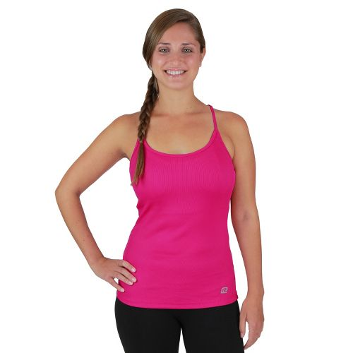 Womens R-Gear Everyday Favorite Strappy Tank Technical Tops - Passion Punch XS