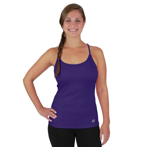 Womens R-Gear Everyday Favorite Strappy Tank Technical Tops - Plum Pop XS