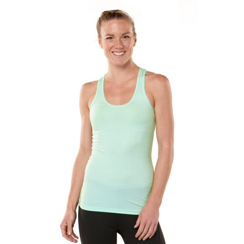 Womens ROAD RUNNER SPORTS Revive Racerback Singlets Technical Tops - Mintify L