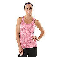 Womens ROAD RUNNER SPORTS Revive Printed Racerback Singlets Technical Tops