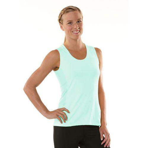 Womens ROAD RUNNER SPORTS Runner's High Sleeveless Technical Tops - Mintify/Just Peachy XS