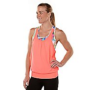 Womens R-Gear Hidden Agenda Chroma Printed Bra Tank Singlets Technical Tops