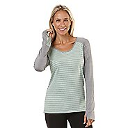 Womens Road Runner Sports Sheer Bliss Long Sleeve No Zip Technical Tops