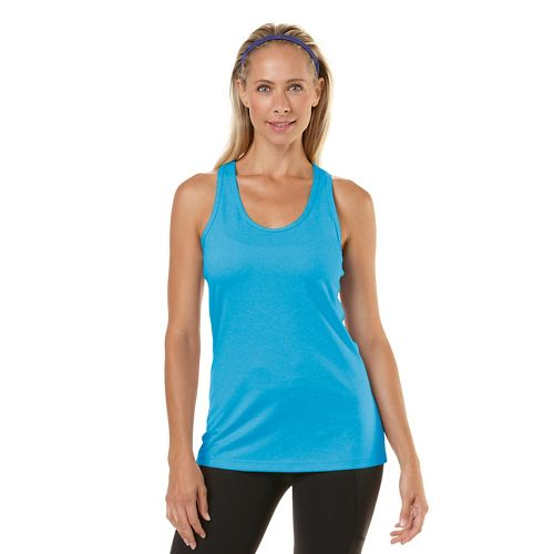 Womens R-Gear Revive Racerback Tanks Technical Top - Blue Lagoon S