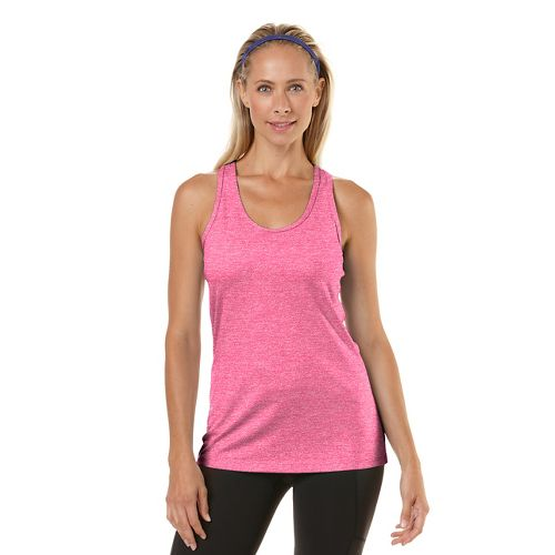 Womens R-Gear Revive Racerback Tanks Technical Top - Heather Passion Punch L