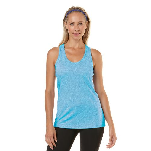 Womens R-Gear Revive Racerback Tanks Technical Top - Heather Sea Breeze L