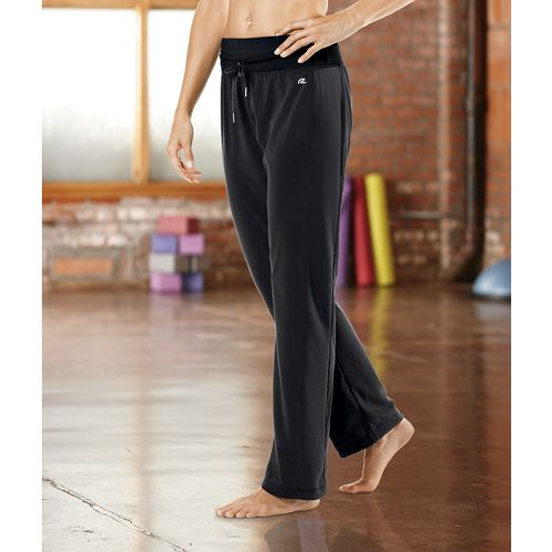 Womens Road Runner Sports Work It Out Full Length Pants - Black XL