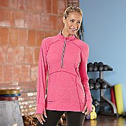 Womens Road Runner Sports Set The Stage Long Sleeve 1/2 Zip Technical Tops