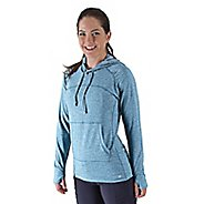 Womens Road Runner Sports On The Move Hoodie Long Sleeve No Zip Technical Tops