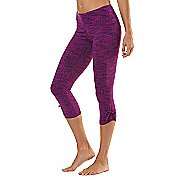 "Womens Road Runner Sports Cinch-n-Inch Printed 19"" Capri Tights"
