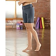 """Womens Road Runner Sports Speed Pro Compression 8"""" Fitted Shorts - Heather Charcoal M"""
