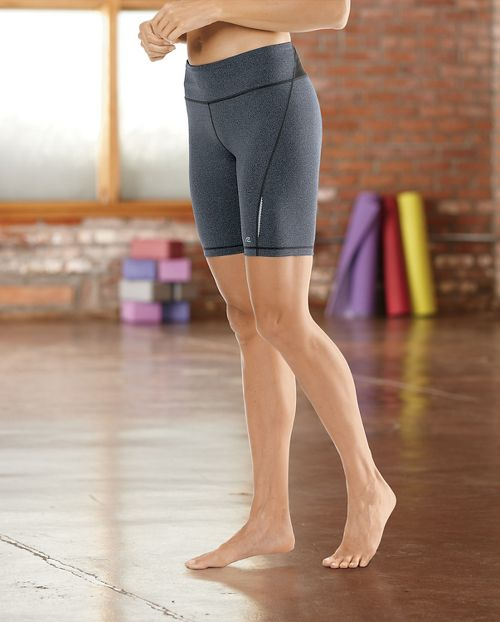 """Womens Road Runner Sports Speed Pro Compression 8"""" Fitted Shorts - Black S"""