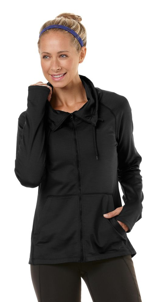 Womens R-Gear Pure-n-Simple Running Jackets - Black S