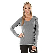 Womens Road Runner Sports Finish First Long Sleeve No Zip Technical Tops