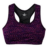 Womens Road Runner Sports Star Performer Printed Sportek A/B Sports Bra - Mulberry Madness XS