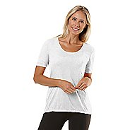 Womens Road Runner Sports Fade Away Short Sleeve Technical Tops