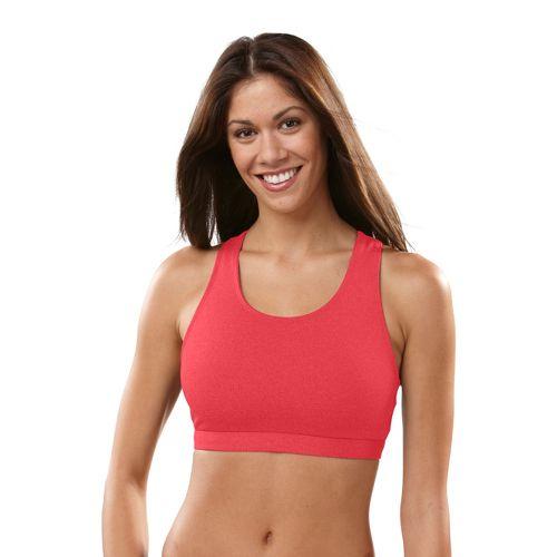 Womens R GEAR Star Performer Sportek C/D Sports Bra - Ruby/Pink L