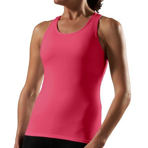 Womens Road Runner Sports Bring It On Powertek Bra A/B Sport Top Bras - Ruby/Pink ...