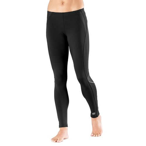 Womens R-Gear High-Speed Compression Fitted Tights - Black LT