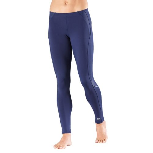Womens R-Gear High-Speed Compression Fitted Tights - Midnight Blue L