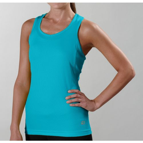 Womens R-Gear Everyday Favorite Tank Technical Tops - Aqua XS