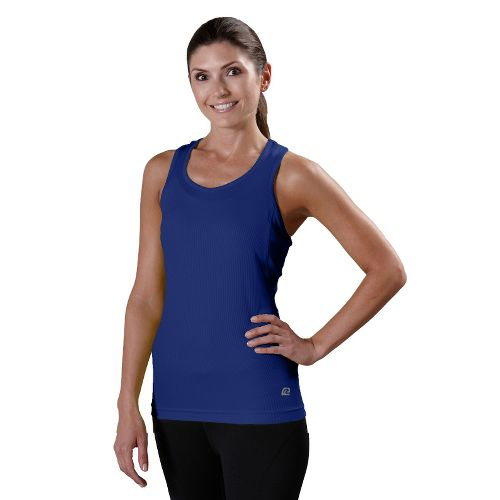Womens R-Gear Everyday Favorite Tank Technical Tops - Bright Iris XS
