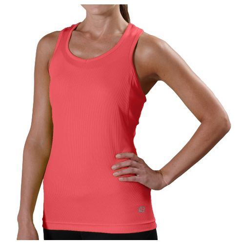Womens R-Gear Everyday Favorite Tank Technical Tops - Coralicious M