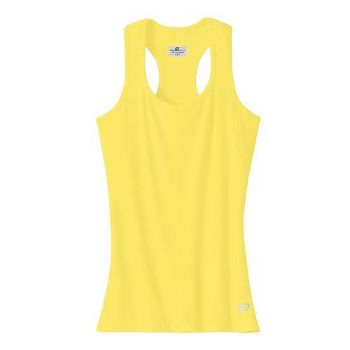 Womens R-Gear Everyday Favorite Tank Technical Tops - Lemonade M