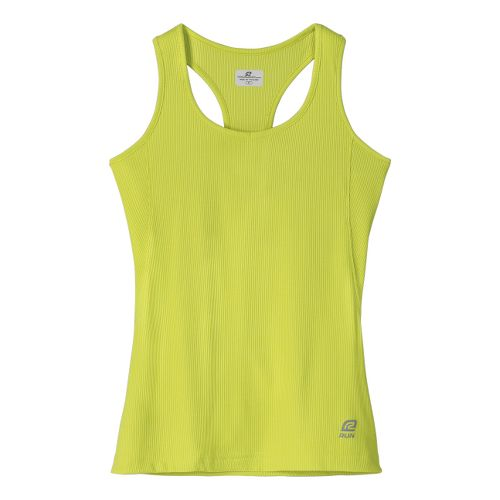 Womens R-Gear Everyday Favorite Tank Technical Tops - Lime XS