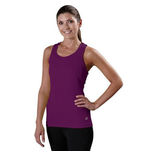 Womens R-Gear Everyday Favorite Tank Technical Tops - Plum Crazy L
