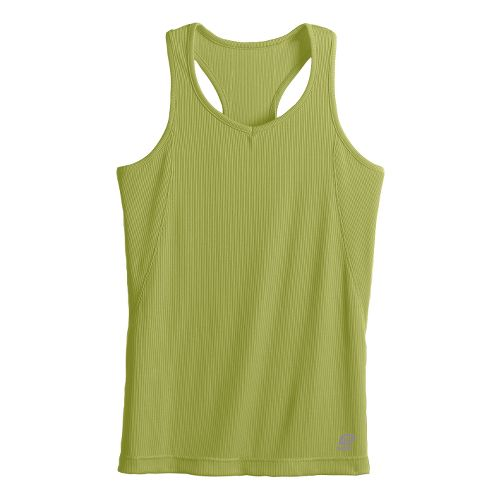 Womens R-Gear Everyday Favorite Tank Technical Tops - Pea XS