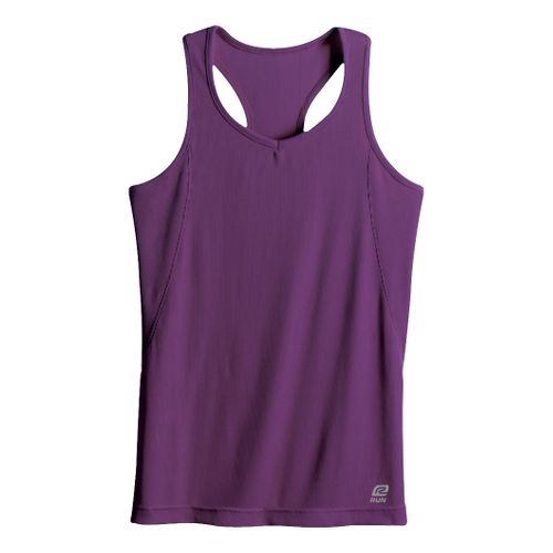 Womens R-Gear Everyday Favorite Tank Technical Tops - Plum S