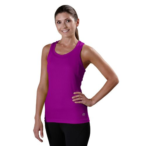 Womens R-Gear Everyday Favorite Tank Technical Tops - Purple Shock L