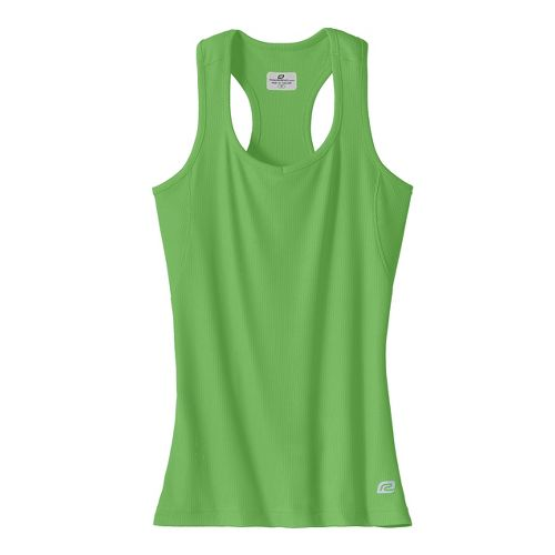 Womens R-Gear Everyday Favorite Tank Technical Tops - Spruce/Green S