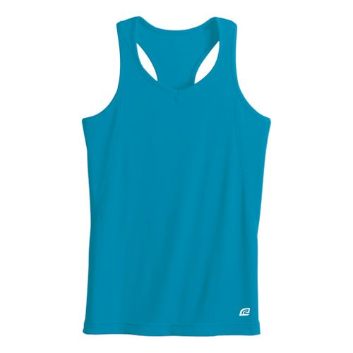 Womens R-Gear Everyday Favorite Tank Technical Tops - Turquoise S