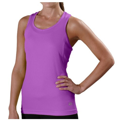 Womens R-Gear Everyday Favorite Tank Technical Tops - Wild Orchid XL