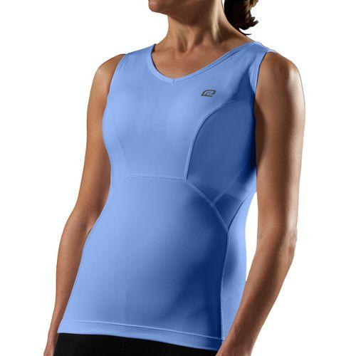 Womens Road Runner Sports Secret Weapon Bra Tank Sport Top Bras - Peri D