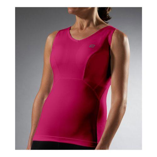 Womens Road Runner Sports Secret Weapon Bra Tank Sport Top Bras - Wine A