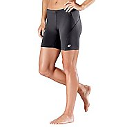"Womens Road Runner Sports High-Speed Compression 6"" Fitted Shorts"