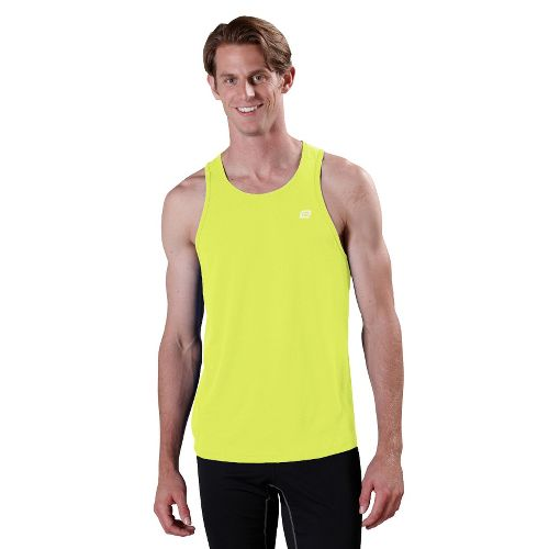 Mens ROAD RUNNER SPORTS Runner's High Singlet Technical Tops - Electrolyte M