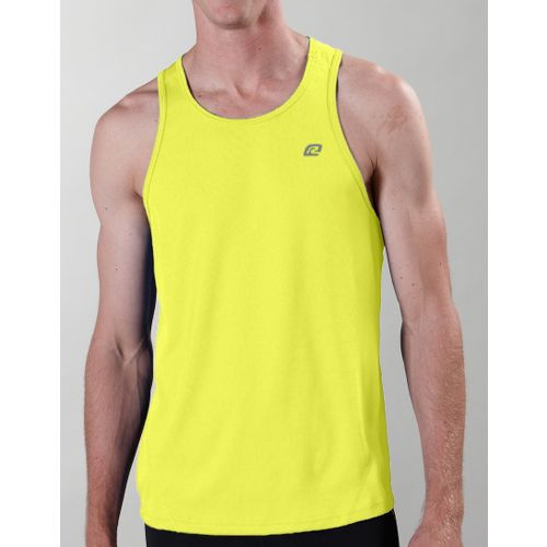 Mens ROAD RUNNER SPORTS Runner's High Singlet Technical Tops - Lightning L