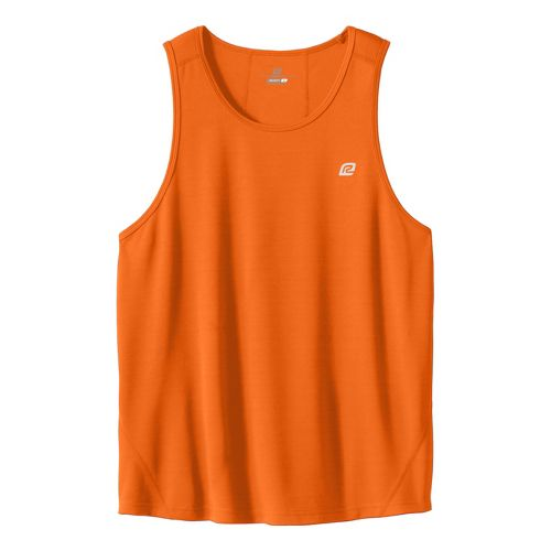 Mens ROAD RUNNER SPORTS Runner's High Singlet Technical Tops - Orange XL
