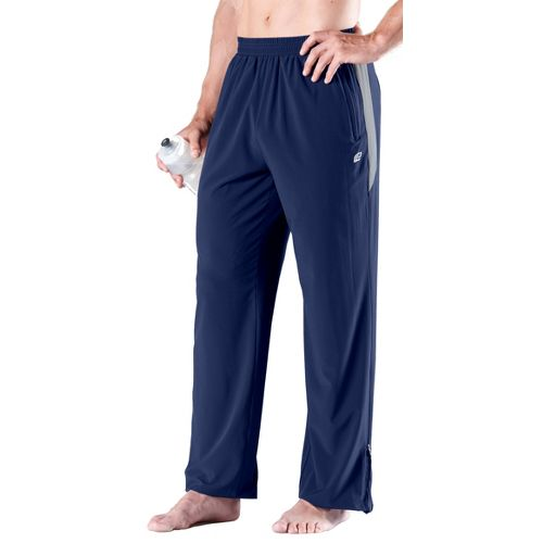 Mens Road Runner Sports Change of Pace Pant Full Length Pants - Midnight Blue/Steel M ...