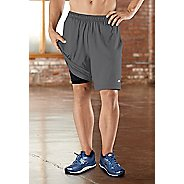 "Mens Road Runner Sports Power Boost 2-in-1 8"" Shorts"