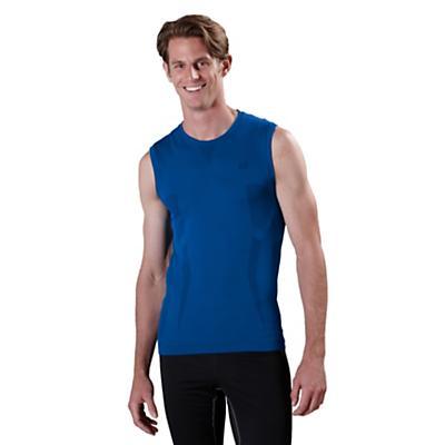 Mens Road Runner Sports Feel Great Seamless Sleeveless Technical Tops