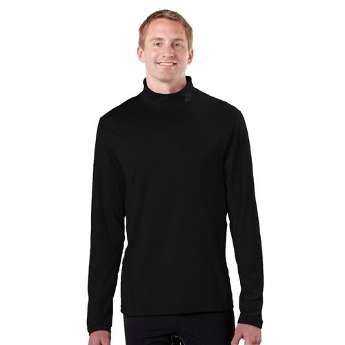 Mens R-Gear Insulator Thermo Mock Long Sleeve No Zip Technical Tops - Black XXL