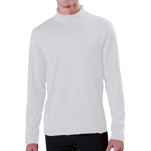 Mens R-Gear Insulator Thermo Mock Long Sleeve No Zip Technical Tops - White S