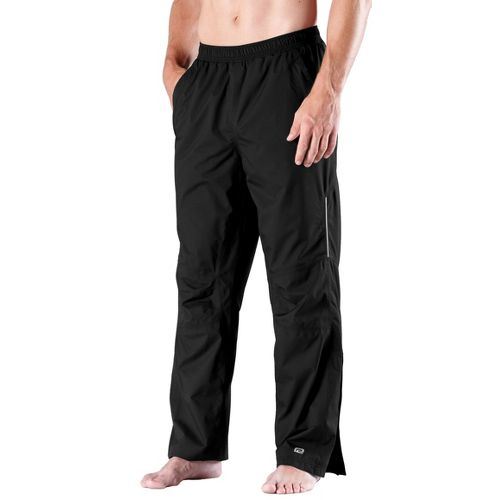 Mens Road Runner Sports Best Defense GORE-TEX Cold weather Pants - Black XL