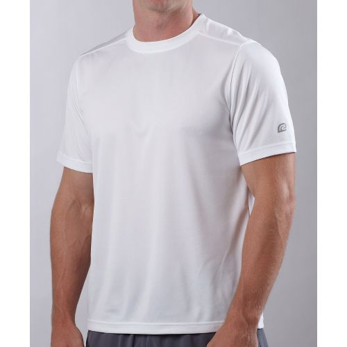 Mens ROAD RUNNER SPORTS Event Tee Short Sleeve Technical Tops - White S